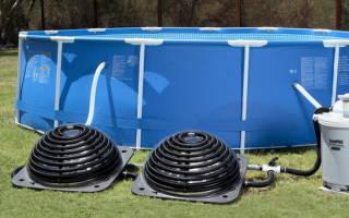 Как подогреть воду в бассейне на даче?
