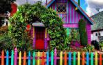 Фасад дачного дома своими руками