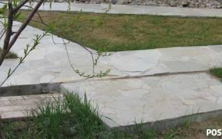 Дачные дорожки из бетона своими руками