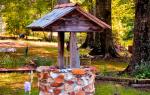 Как построить колодец на даче?