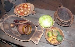Основные овощные культуры России