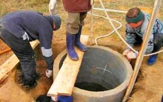 Как правильно выкопать колодец на даче?
