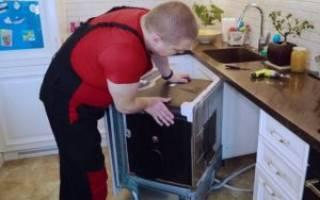 Как подготовить посудомойку к зиме на даче?