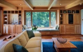 Чем лучше обшить потолок на даче?