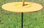 Как сделать солнечные часы на даче?