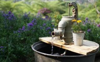 Подготовка дачного водопровода к зиме