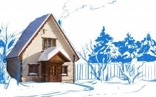 Как обогреть дачный домик без электричества?