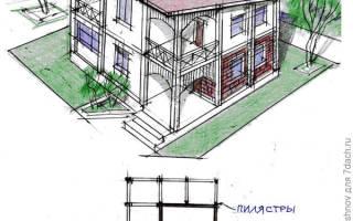 Как надстроить второй этаж к дачному домику?