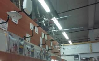 Как закрепить антенну на даче?