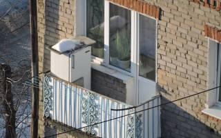 Как оставлять холодильник на зиму на даче?