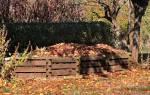 Из чего делают компост на даче?