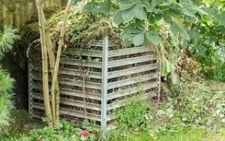 Как построить компостную яму на даче?