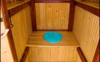 Как сделать стульчак в туалете на даче?