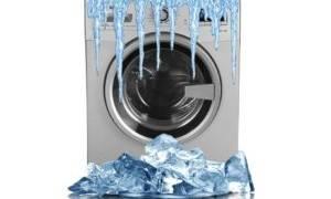 Как хранить стиральную машину зимой на даче?